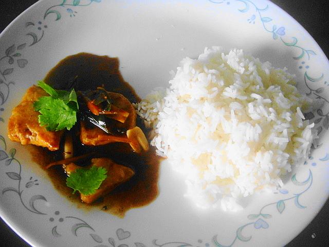 Tangy Tamarind Fish Curry Sugar Spice Etc