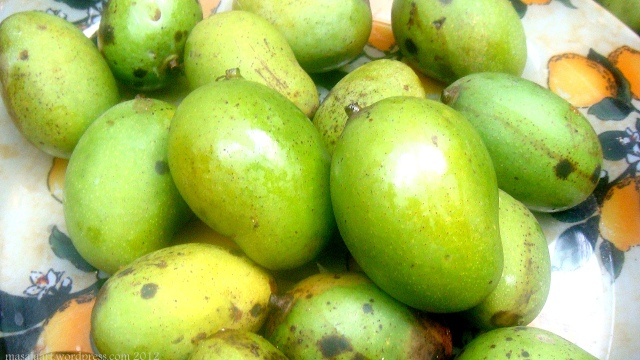 Kerala green mangoes