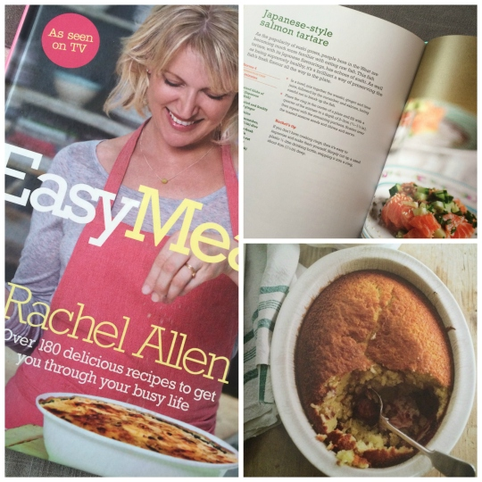 rachel allen easy meals collage